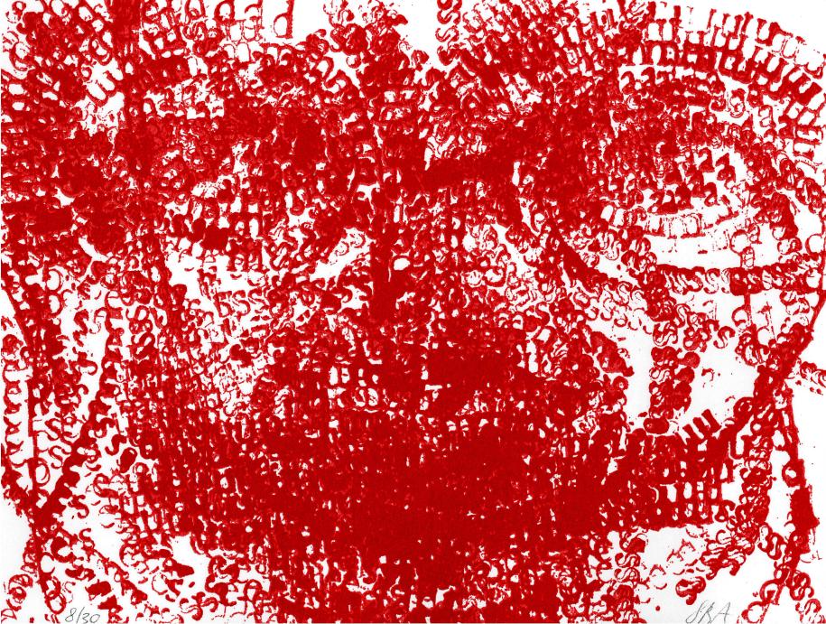 Sophie Bouvier-Ausländer, Sans titre, 2005, impression sur papier 16,5 x 21,7 cm © Sophie Bouvier-Ausländer