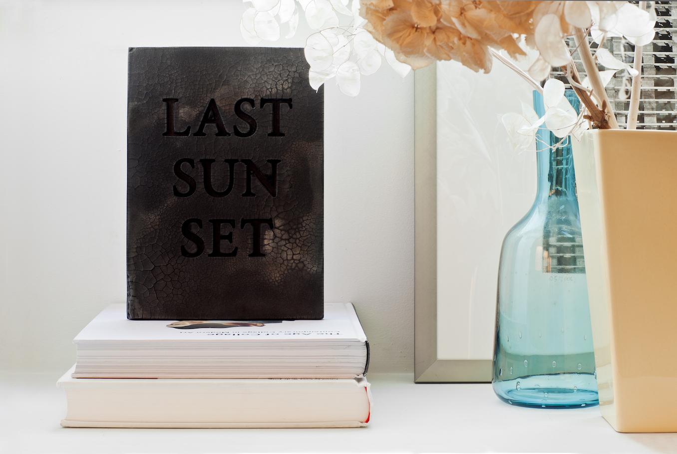 © Sandrine Pelletier, Last Sunset, Edition MBAL 2019. Photo: Lionel Henriod